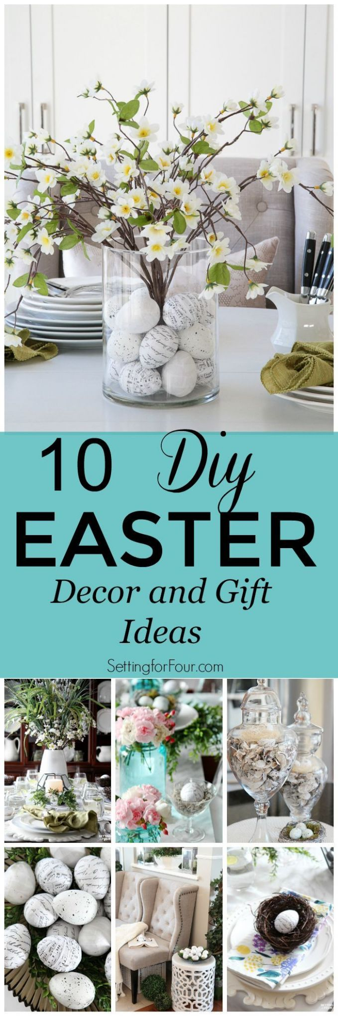 Celebrate Easter with these 12 DIY Easter Home Decor and Gift ..