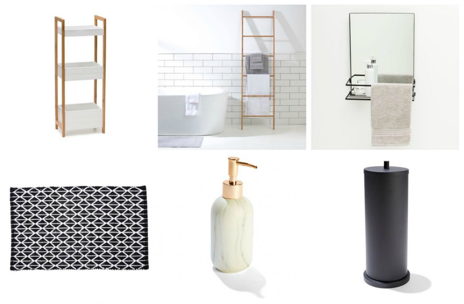 Cheap and Chic Bathroom Accessories and Storage from Kmart - The ..