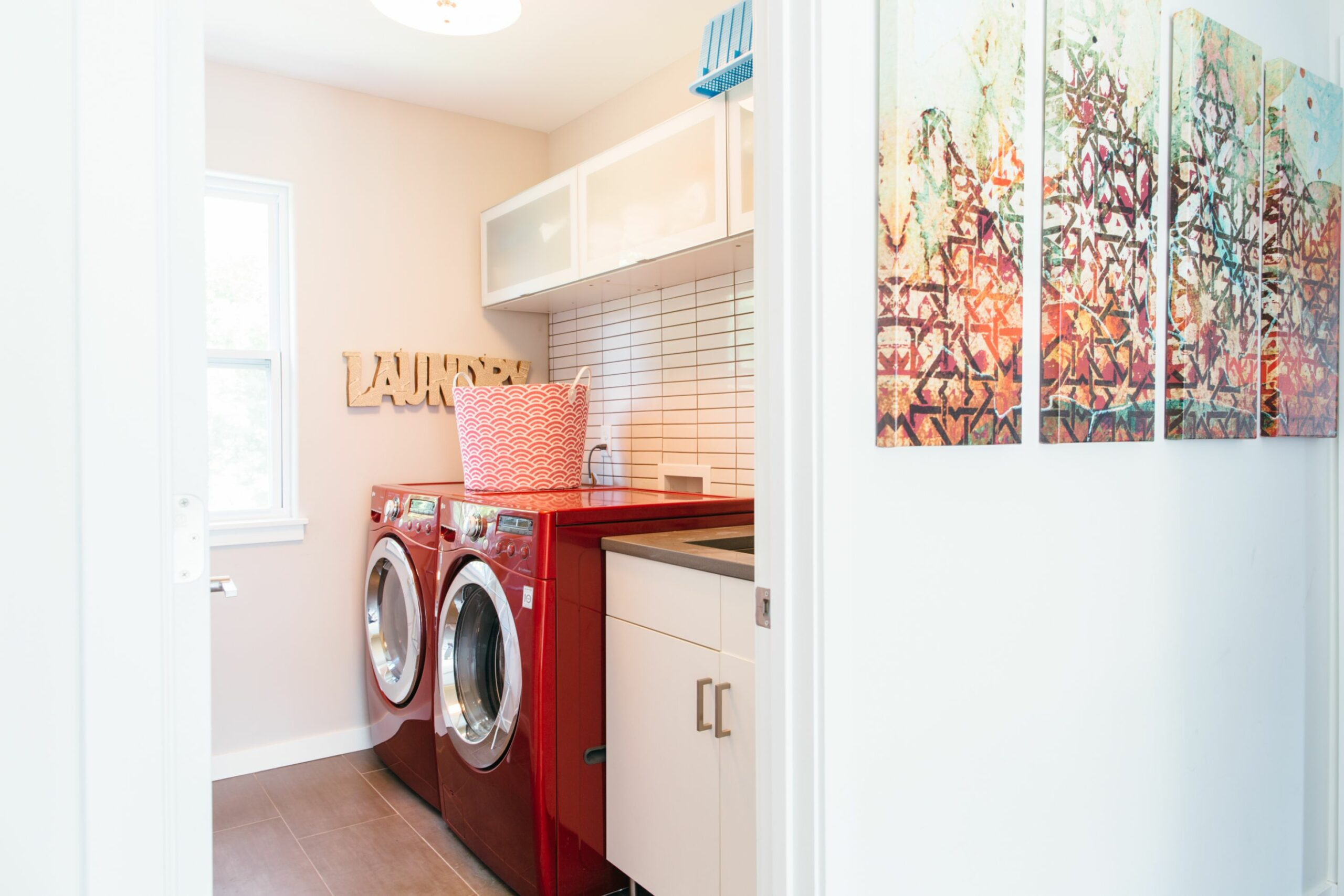 Cheap Laundry Room Upgrades | Apartment Therapy