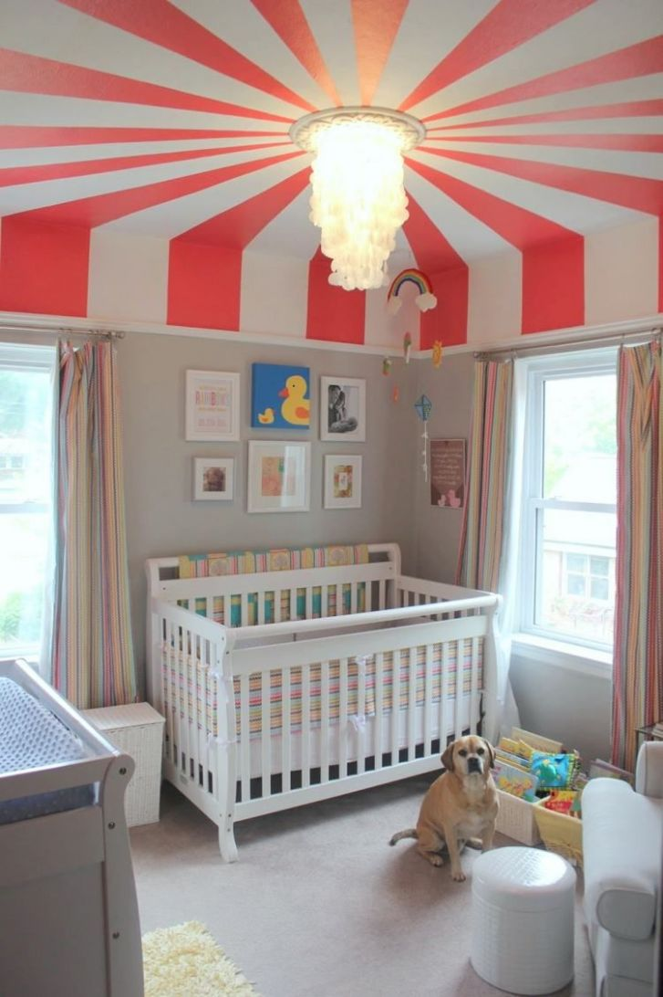 children's room facility decoration baby room topic circus covers ...