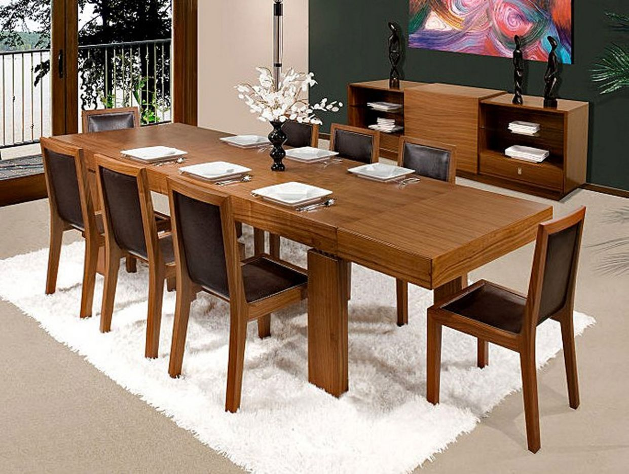 Choosing The Right Dining Room Tables - Amaza Design - dining room table extension ideas