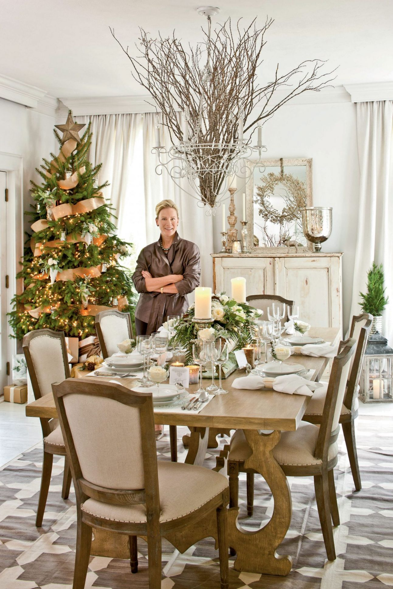 Christmas in the Dining Room | Southern Living