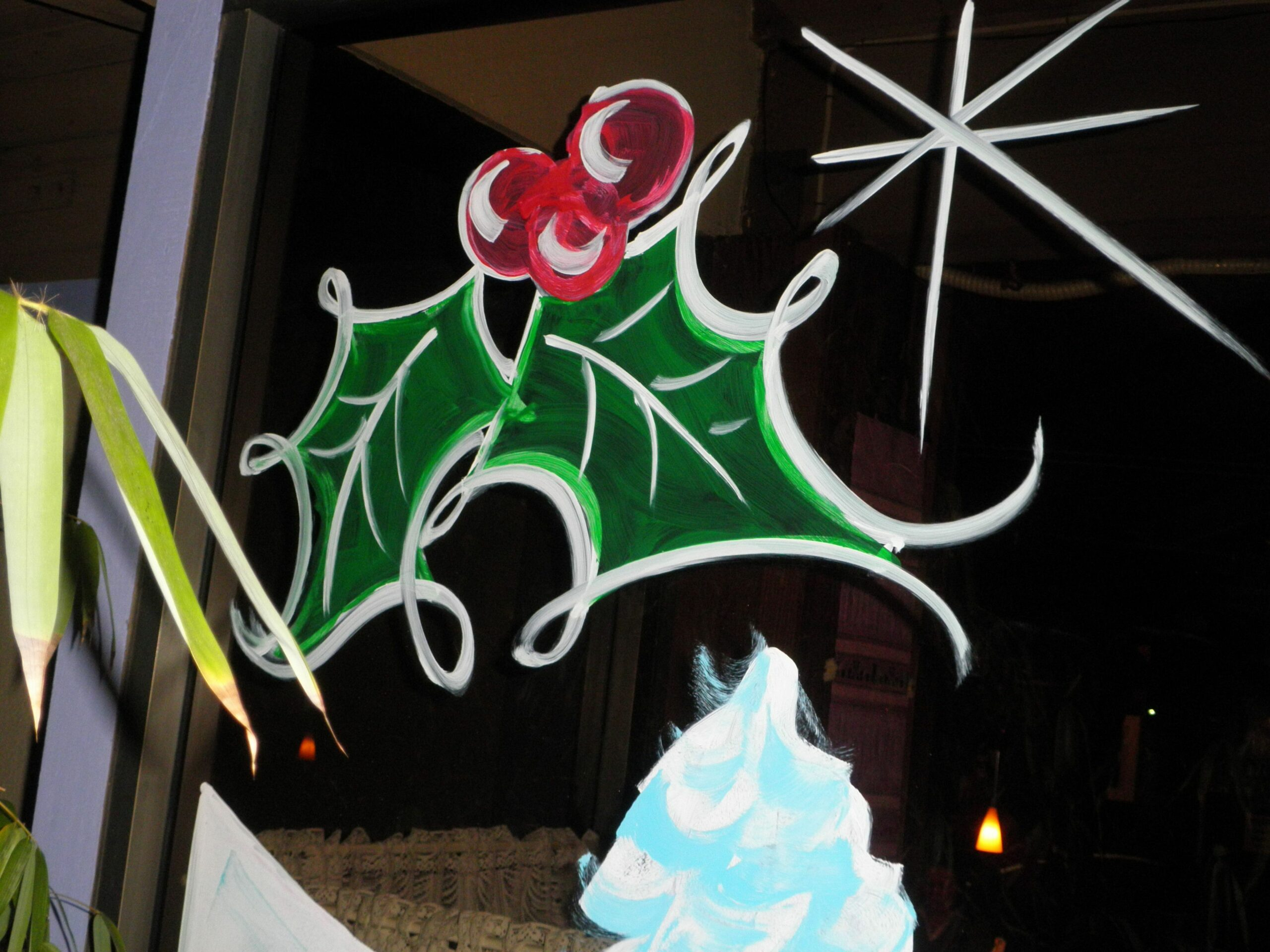 Christmas window painting art | Christmas window painting, Window ..