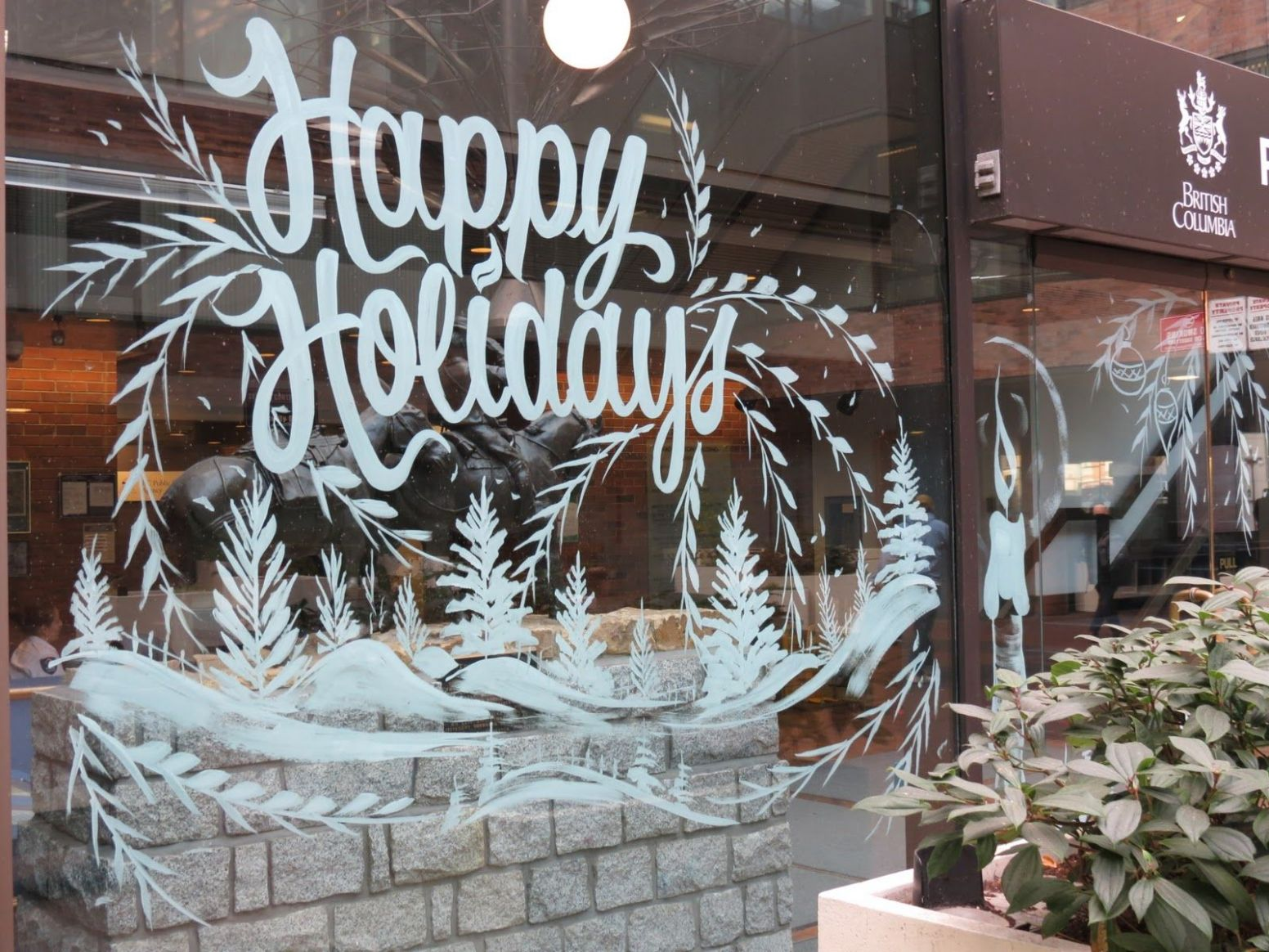 Christmas Window Paintings | Christmas window painting, Holiday ..
