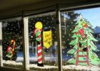 Christmas Window paintings