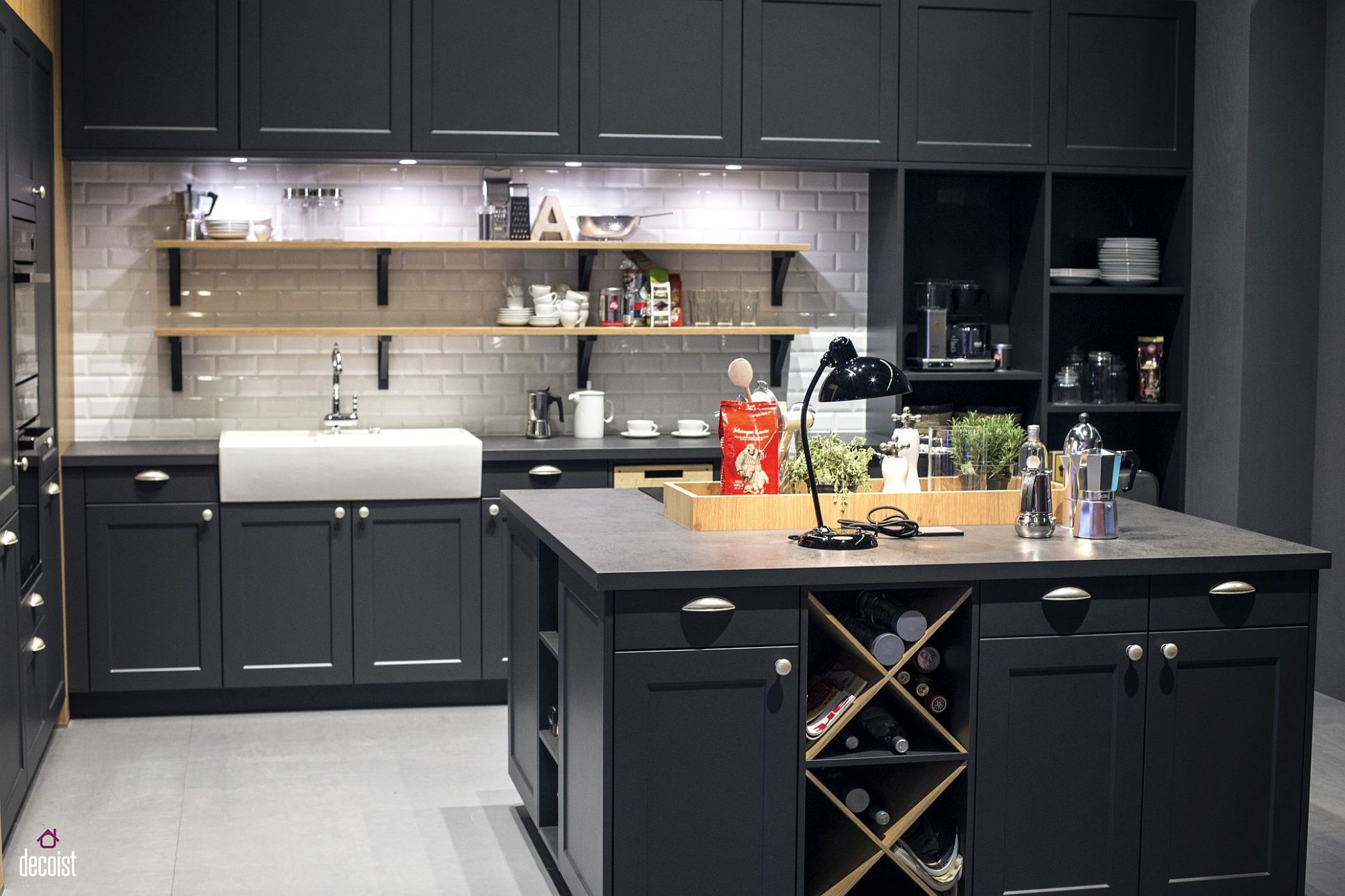 Classic and Trendy: 9 Gray and White Kitchen Ideas - kitchen ideas white and grey