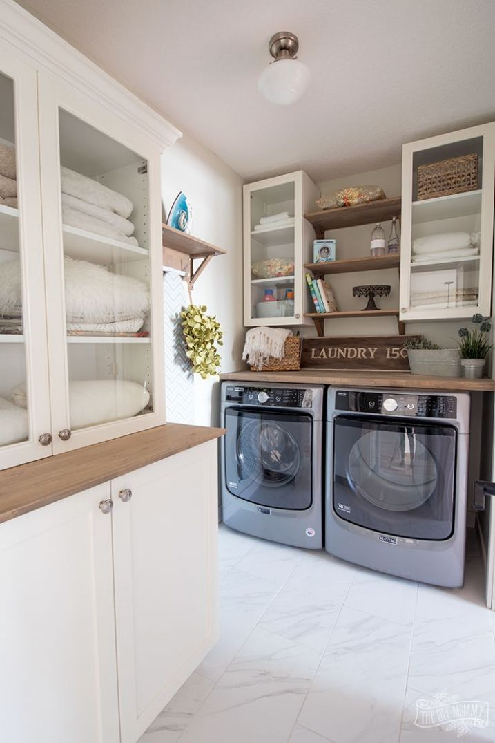 Classic Cottage Laundry Room Reveal with Maytag Canada ...