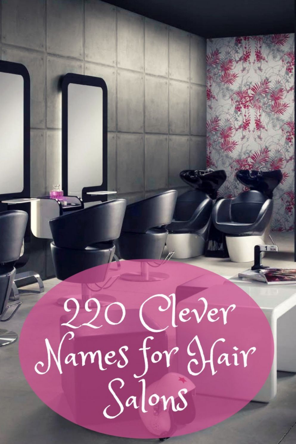 Clever and Fun Names for Your Hair Salon, Barbershop, or Beauty ..