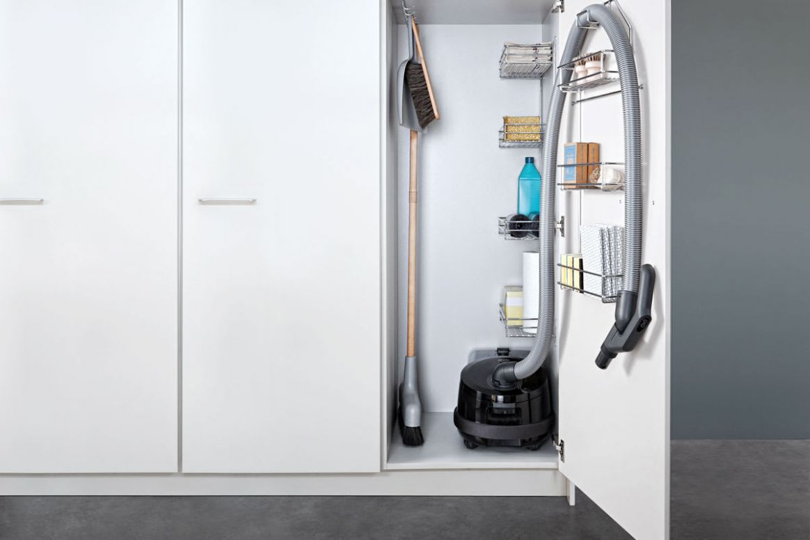 Clever Spots for Vacuum Cleaner Storage | QualityBath