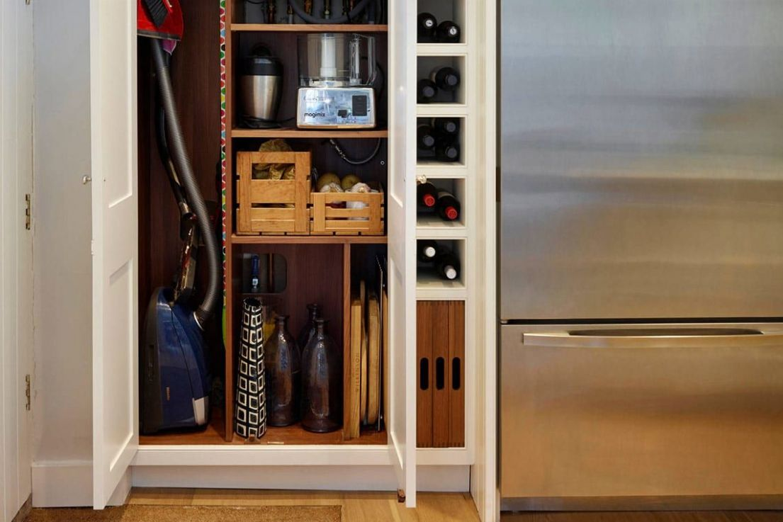 Clever Spots for Vacuum Cleaner Storage | Vacuum cleaner storage ..