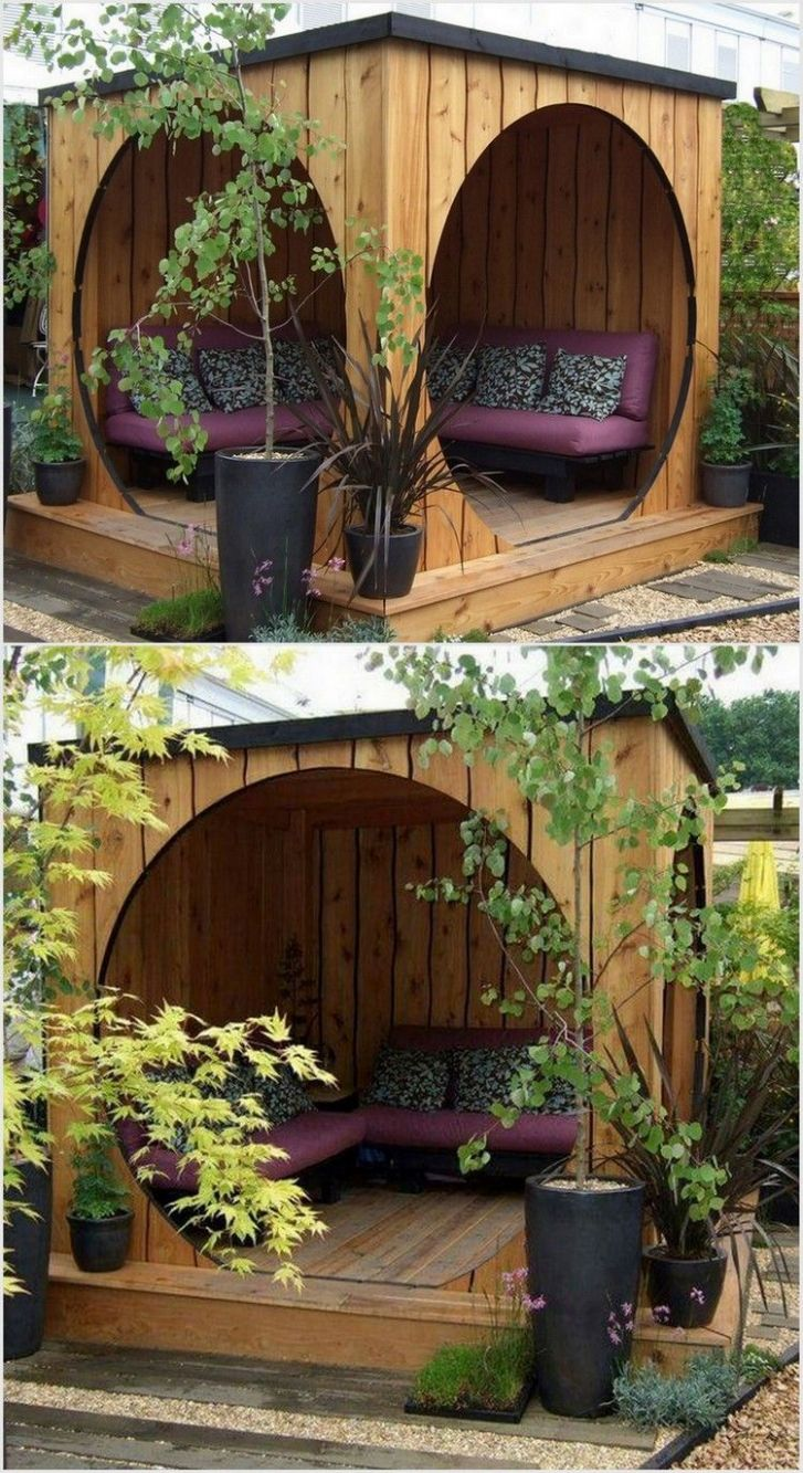 Clever Ways to Decor Your Garden for this Summer with Pallets ..