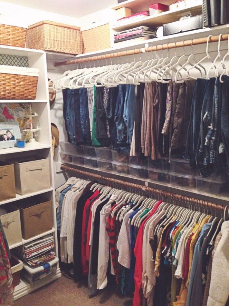 Closet makeover. Matching hangers are a must! | Closet makeover ..