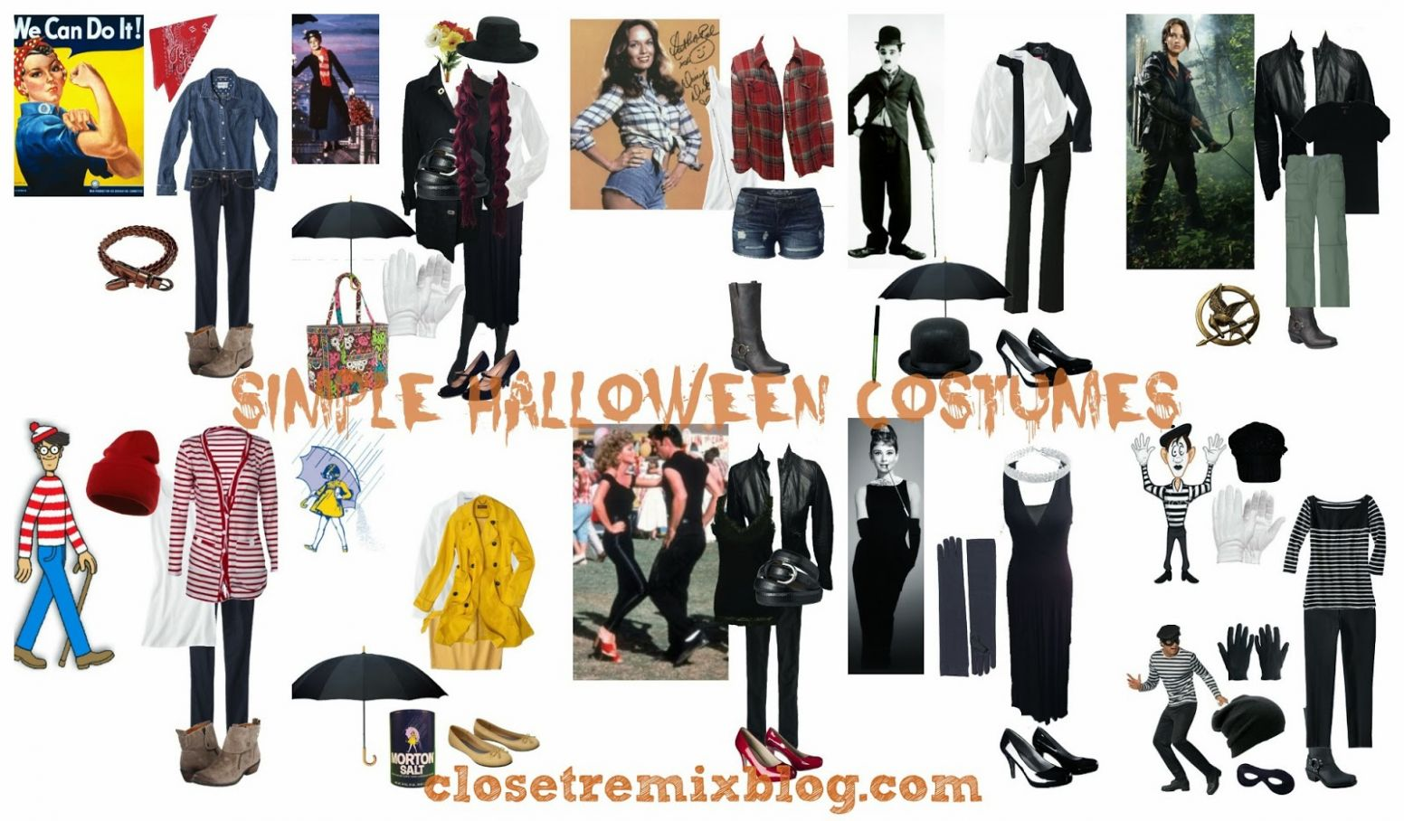 Closet Remix: Remix It! Simple Halloween Costumes in Your Closet ...