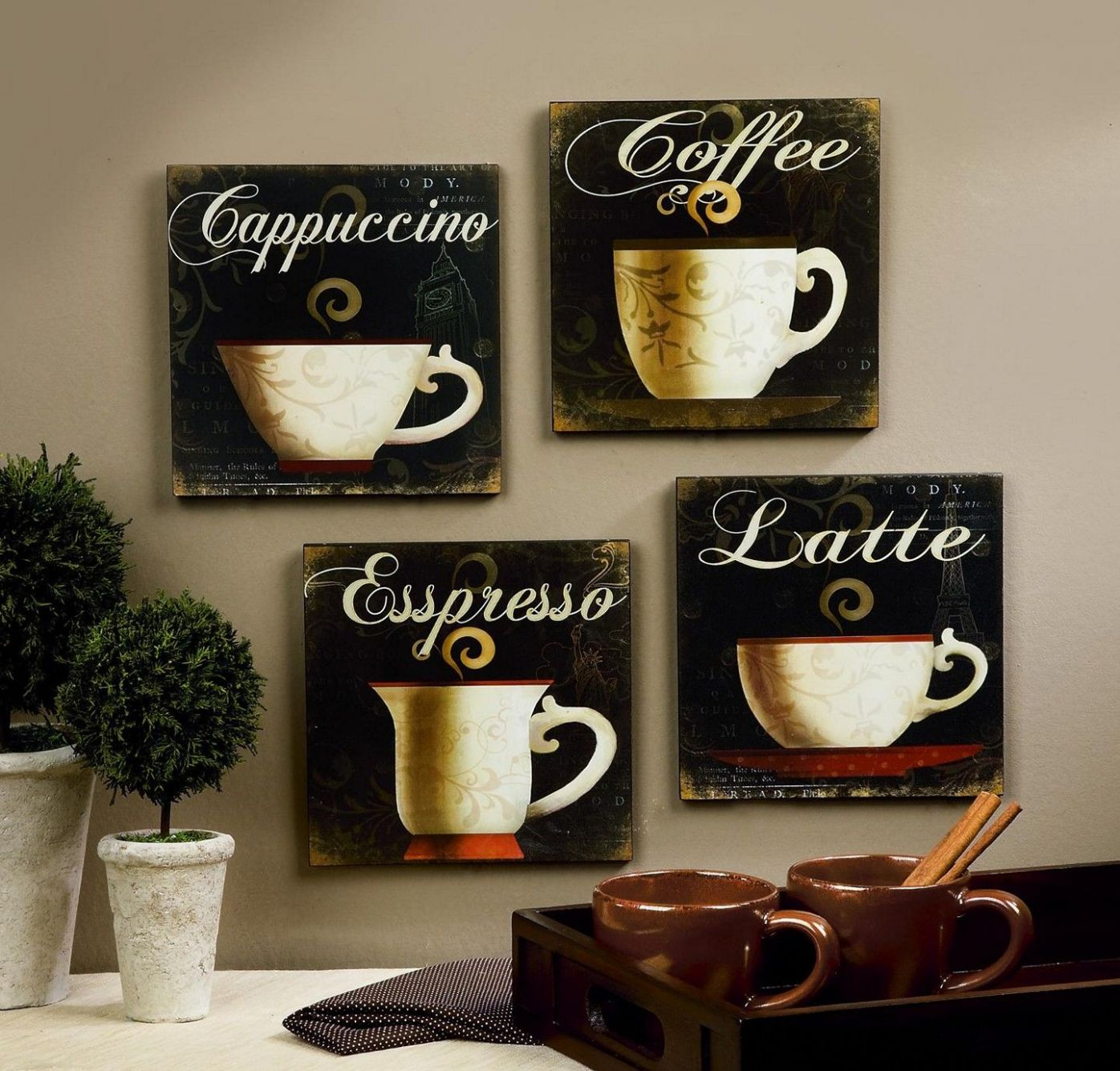 Coffee Themed Kitchen Accessories – layjao - kitchen ideas themes