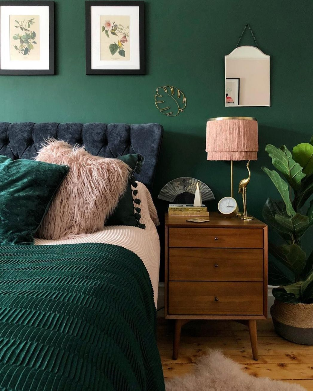 Colors combination with emerald | Best bedroom colors, Home decor ..