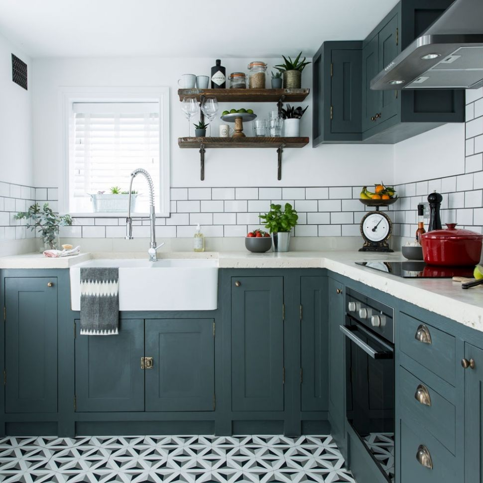 Colour Schemes Kitchen Ideas – Saltandblues - kitchen ideas painted cabinets