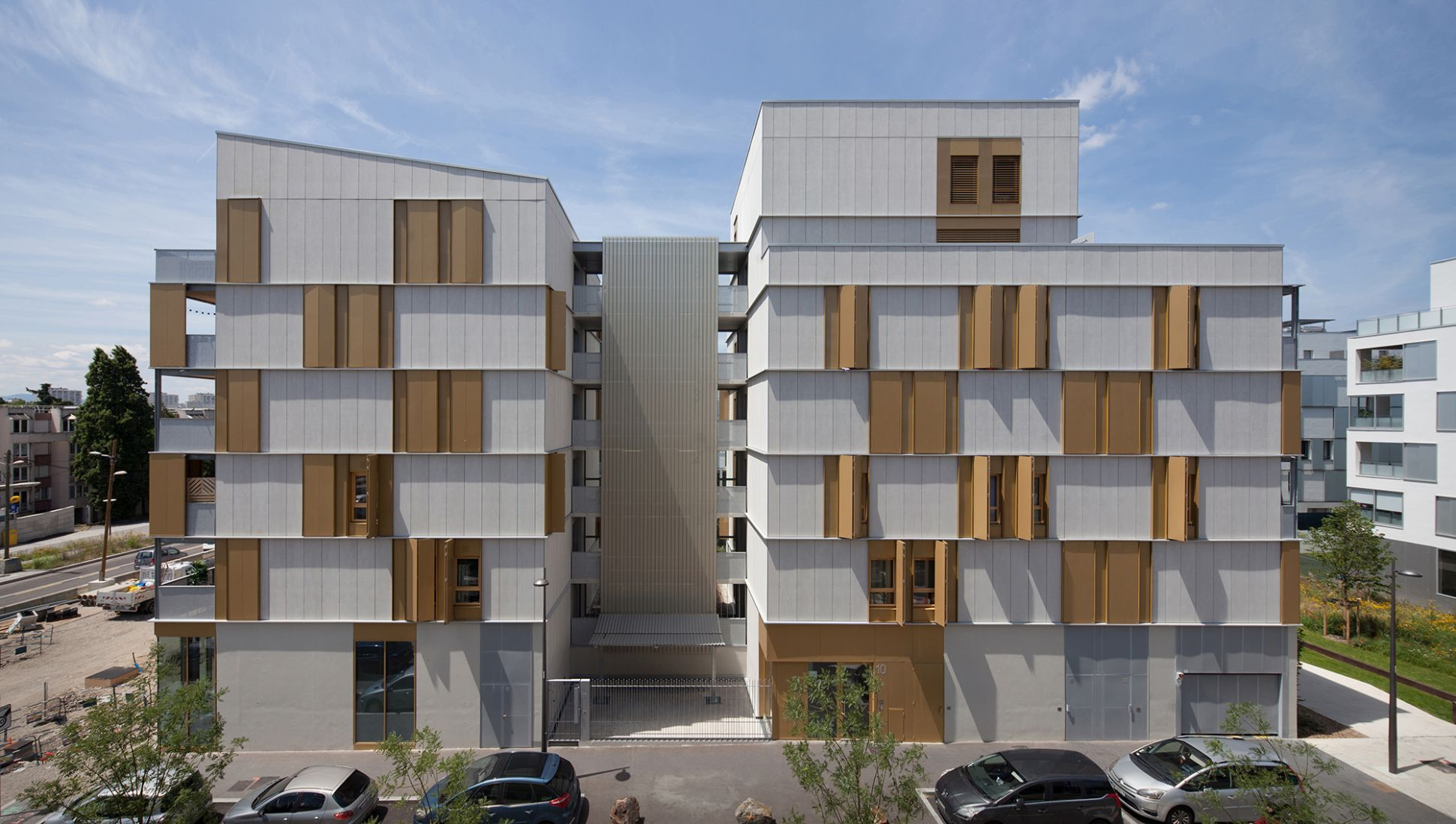 Colourful medley: 10 social apartments in Lyon - DETAIL - Magazine ..