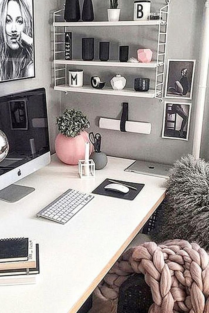 Converting a corner of your bedroom into a small home office area ...
