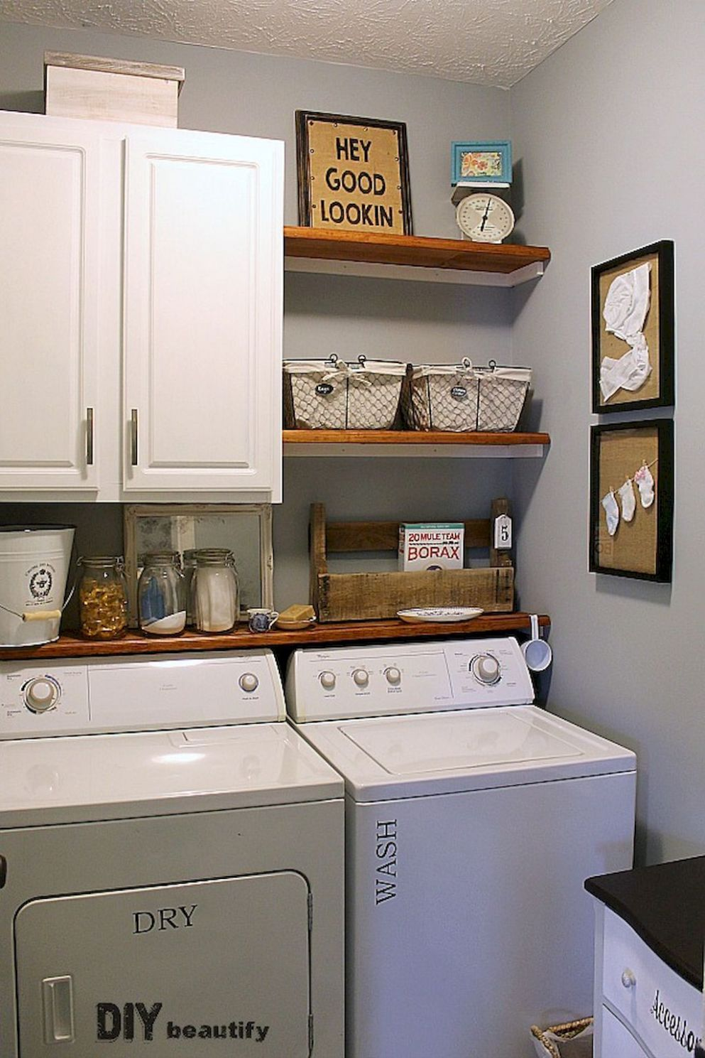 Cool 10 Small Laundry Room Storage and Organization Ideas https ..