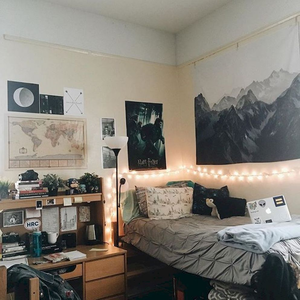 Cool dorm rooms by Chloie Orange on college! | Guy dorm rooms ..