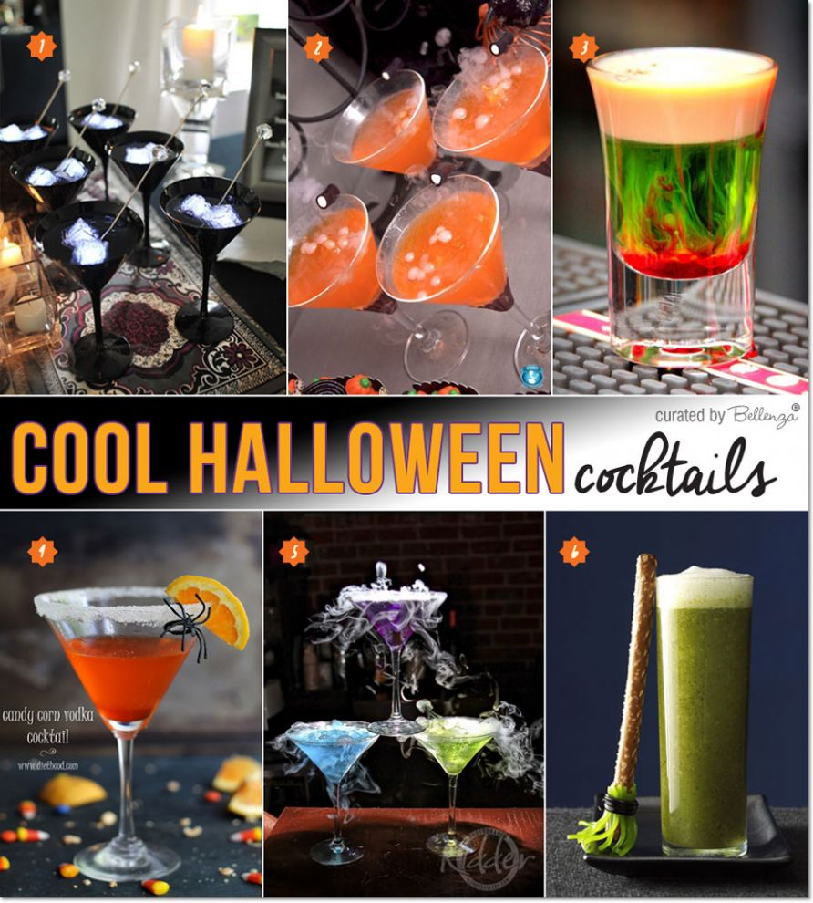 Cool Halloween Cocktails: Ideas on How to Make Them Spookily Stunning! - halloween juice ideas