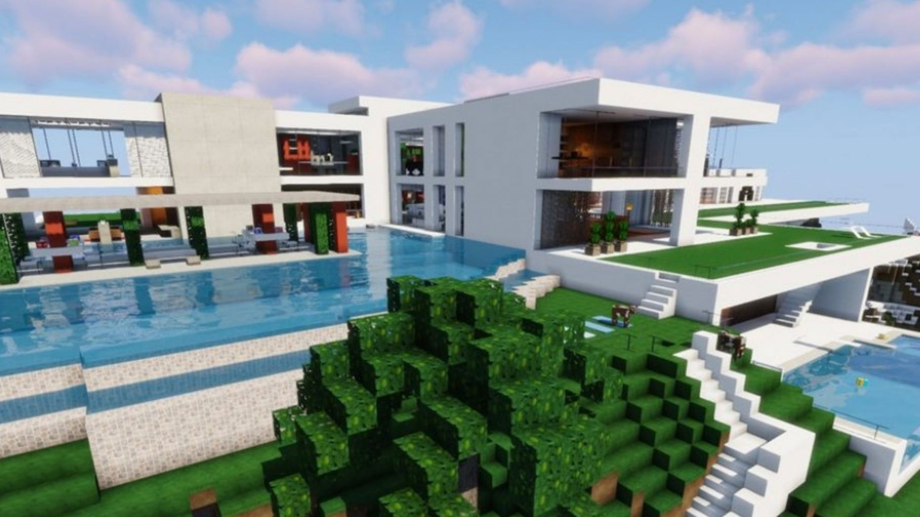 Cool Minecraft houses: ideas for your next build   PCGamesN - villa house inspiration