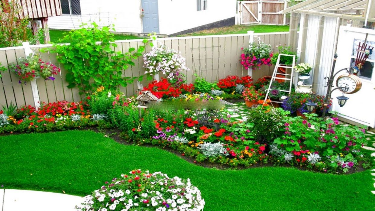 Corner Garden Design Ideas | Small Garden and Flower Design Ideas |  landscape a Corner Garden - garden ideas corner
