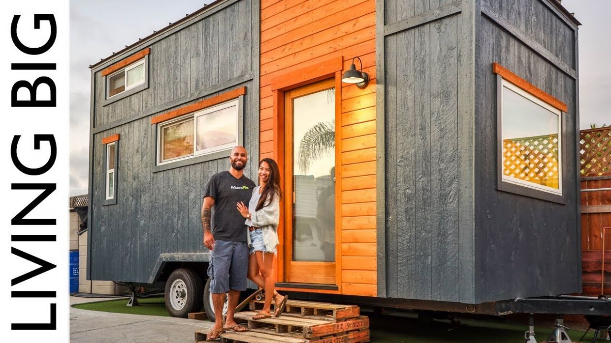 Couple Build Incredible Tiny House For One Years Rent - tiny house builders