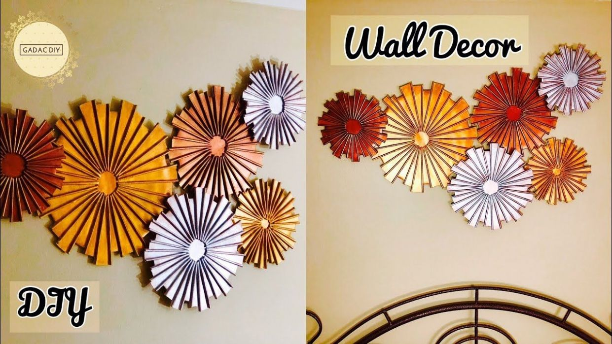 Craft ideas for home decor | wall hanging craft ideas| unique wall ..