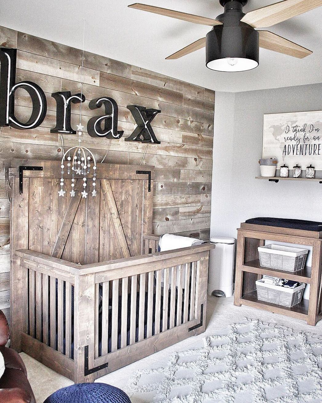 Cranbrook Low Profile with Light 9 inch | Baby boy rooms, Baby ..