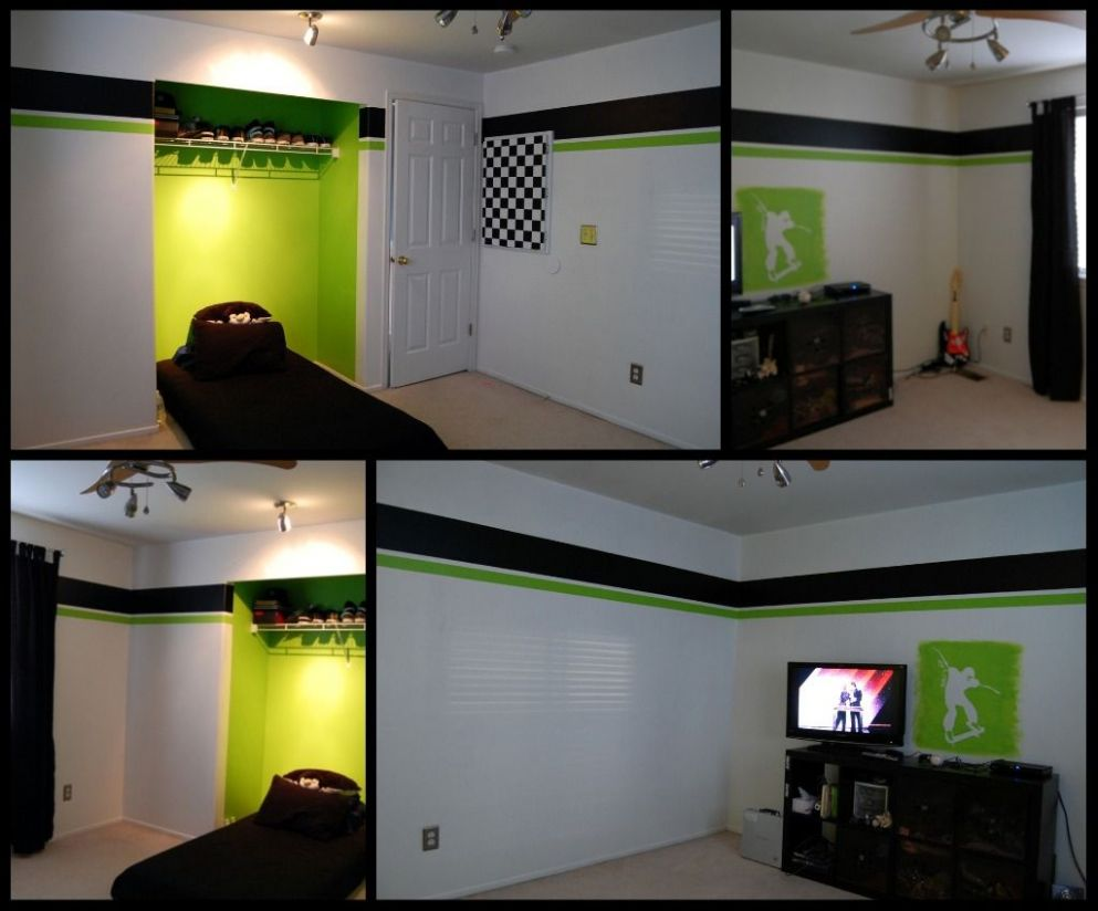 Crazy for Chipboard: Xbox Green | Bedroom games, Gamer room - xbox bedroom ideas