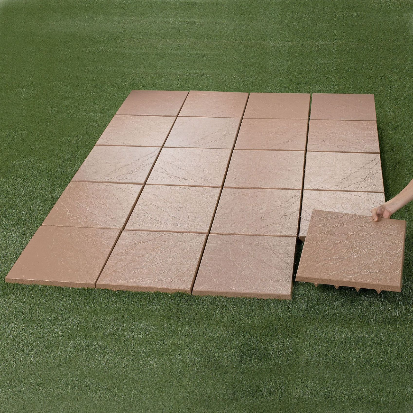 Create an instant patio-on any grass, dirt or sand surface! Ultra ..