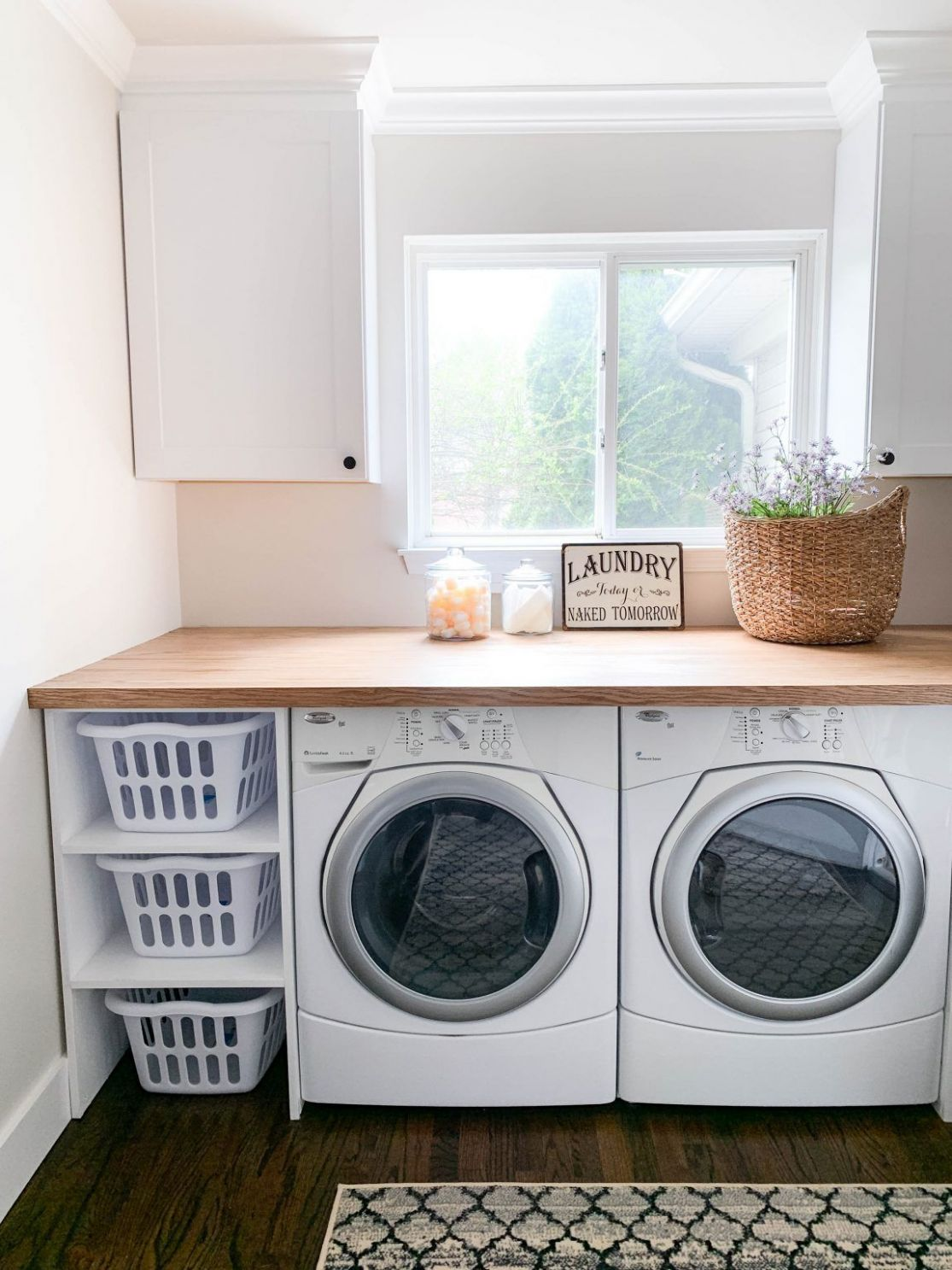 CREATING A PINTEREST PERFECT LAUNDRY ROOM | Zimmer renovierungen ...