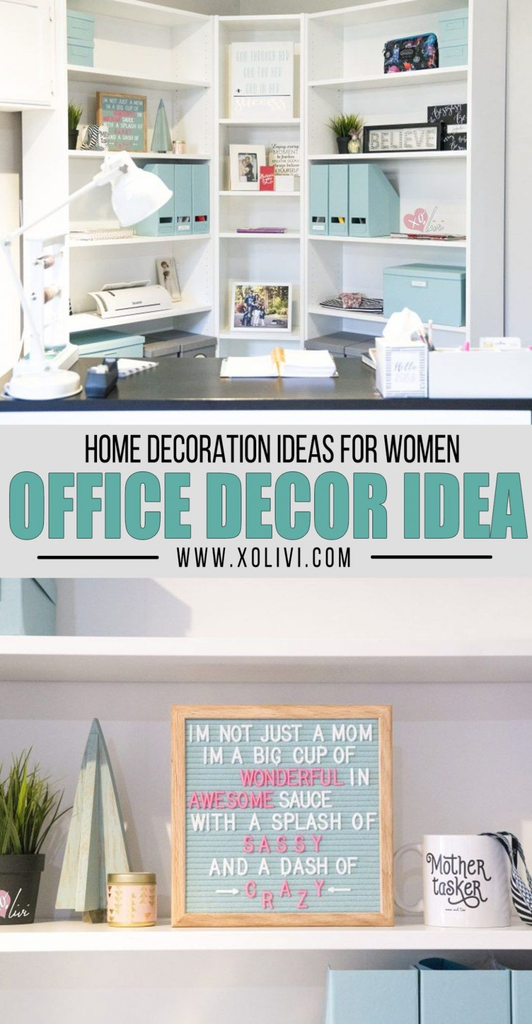 Creating An Office Corner On A Budget | Home office design, Home ..