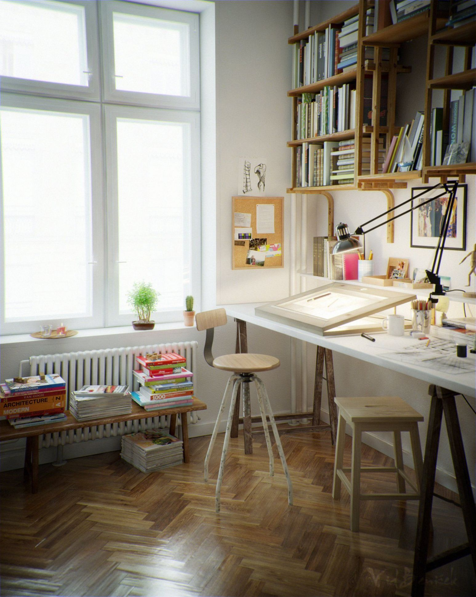 Creative Corners: Incredible and Inspiring Home Art Studios | Art ..