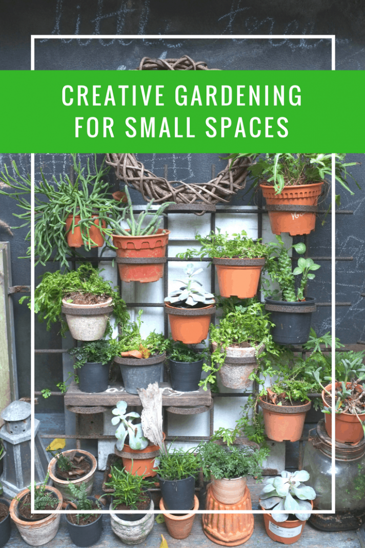 Creative Gardening for Small Spaces | Apartment Living - garden ideas small space