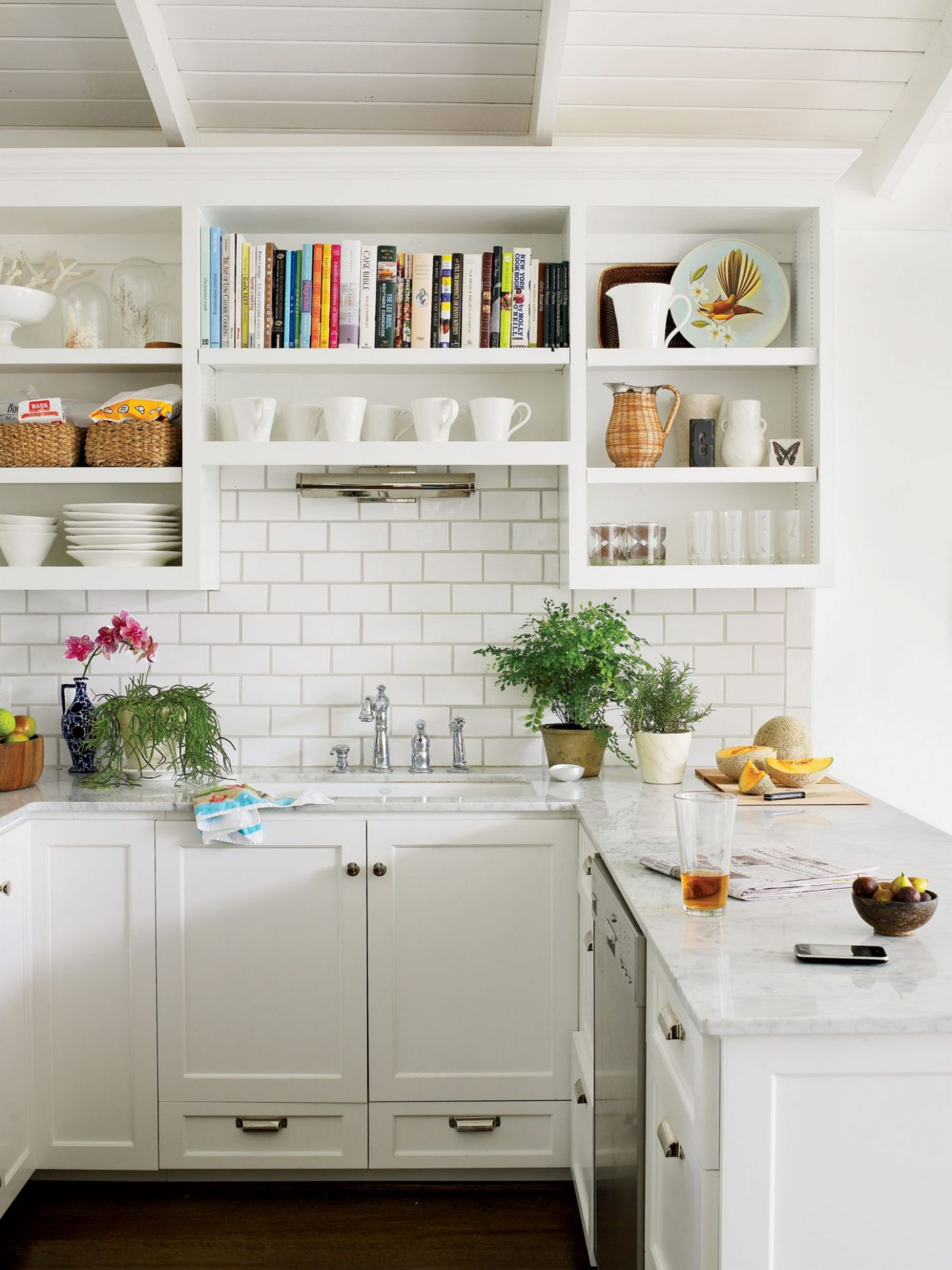 Creative Kitchen Cabinet Ideas | Southern Living - kitchen ideas open