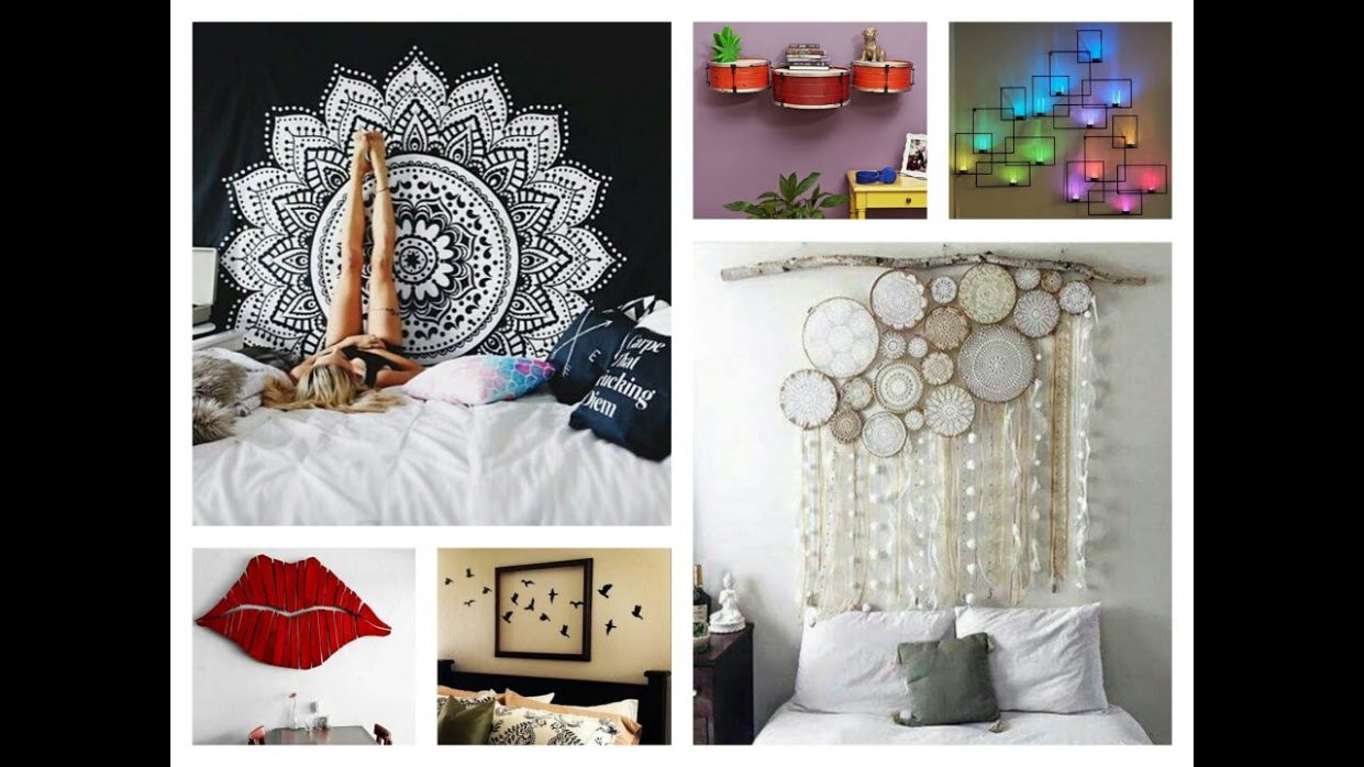 Creative Wall Decor Ideas - DIY Room Decorations