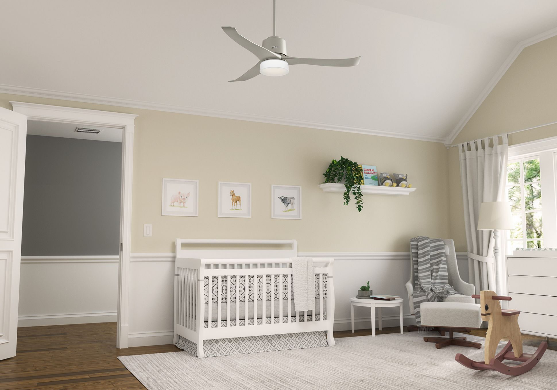 Crib, rocking chair, ceiling fan: Getting your baby's room ready ...