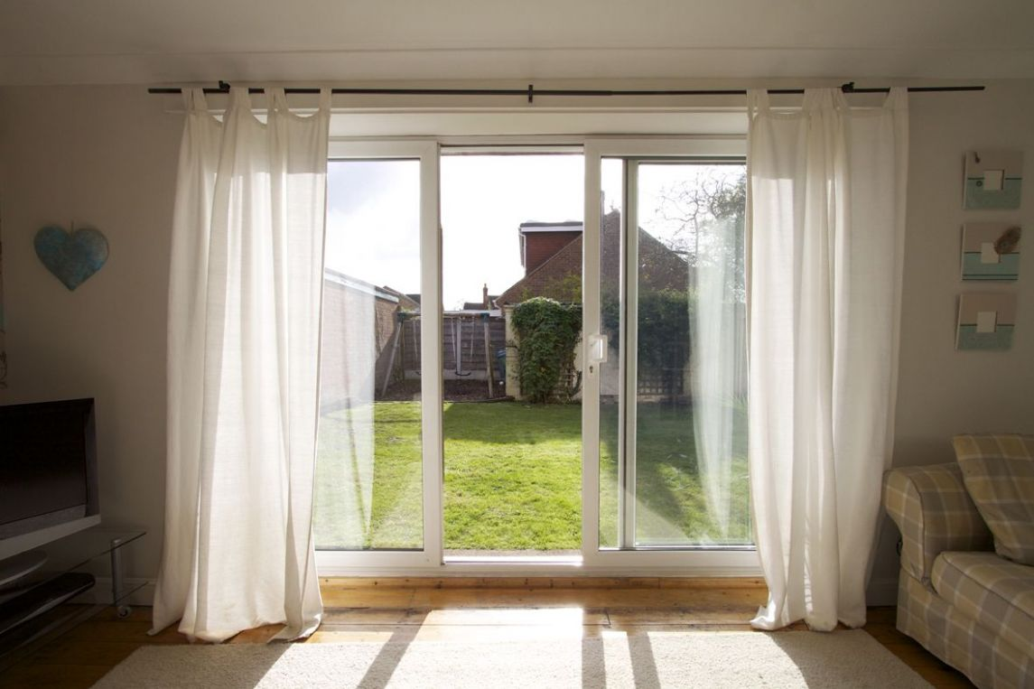 Curtains For Sliding Doors Patio Door Curtain Ideas Sliding Glass ..