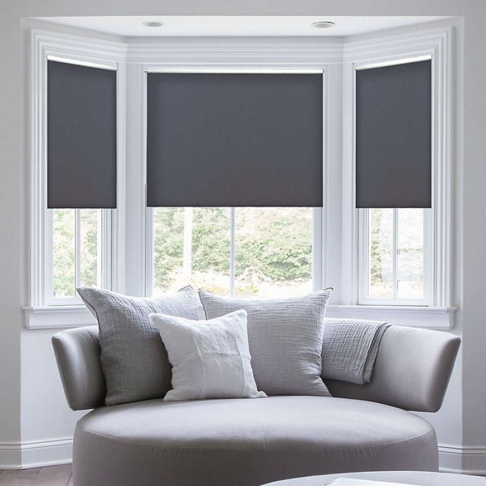 Custom Cordless Window Blinds | Living room blinds, Curtains with ..