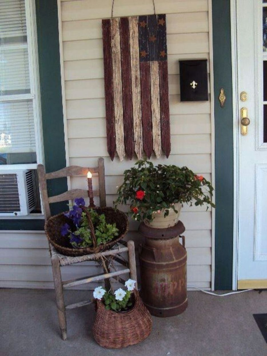Cute And Cool Front Porch Decor Ideas 9 | Front porch furniture ...