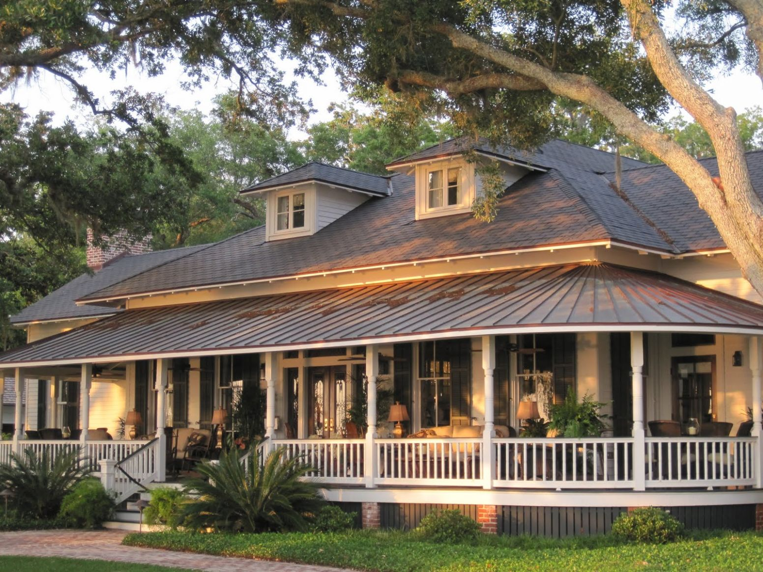Cute Country Style Front Porches Home Room Interior And Decoration ..