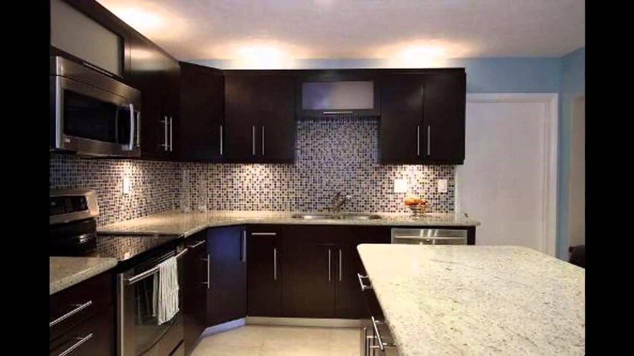 Dark kitchen cabinets - YouTube - kitchen ideas light brown cabinets