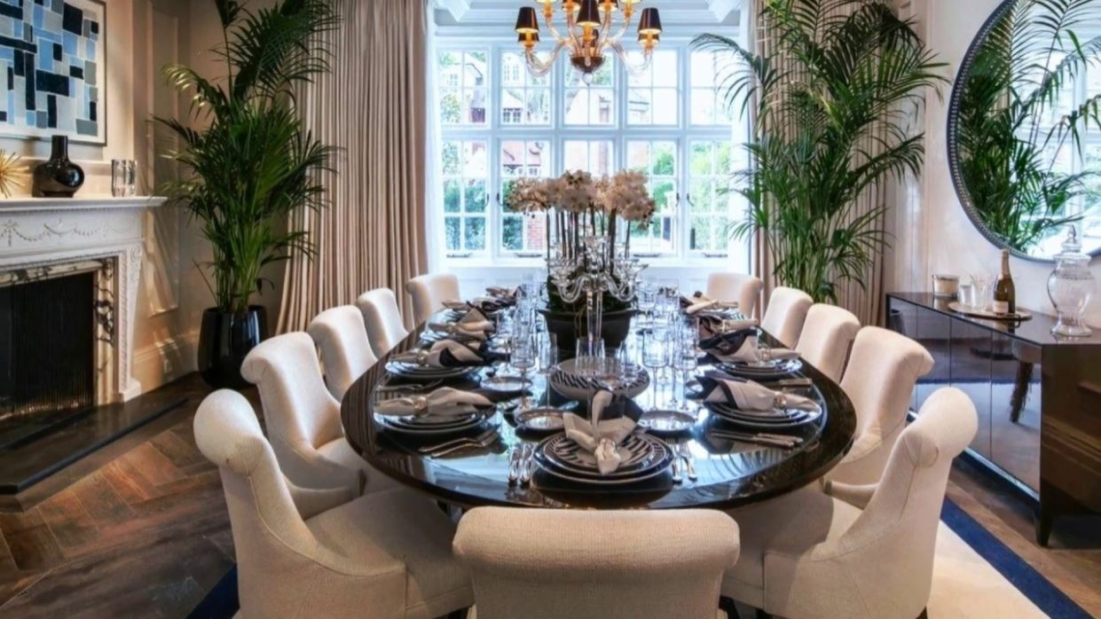 Decorating Ideas | Modern & Beautiful Dining Table Setting Ideas - dining room arrangement ideas
