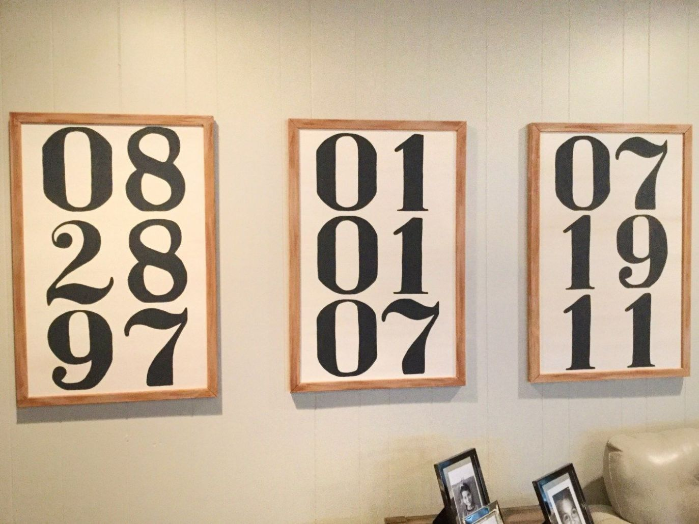 Decorating With Numbers DIY | Decor, Diy, Home decor