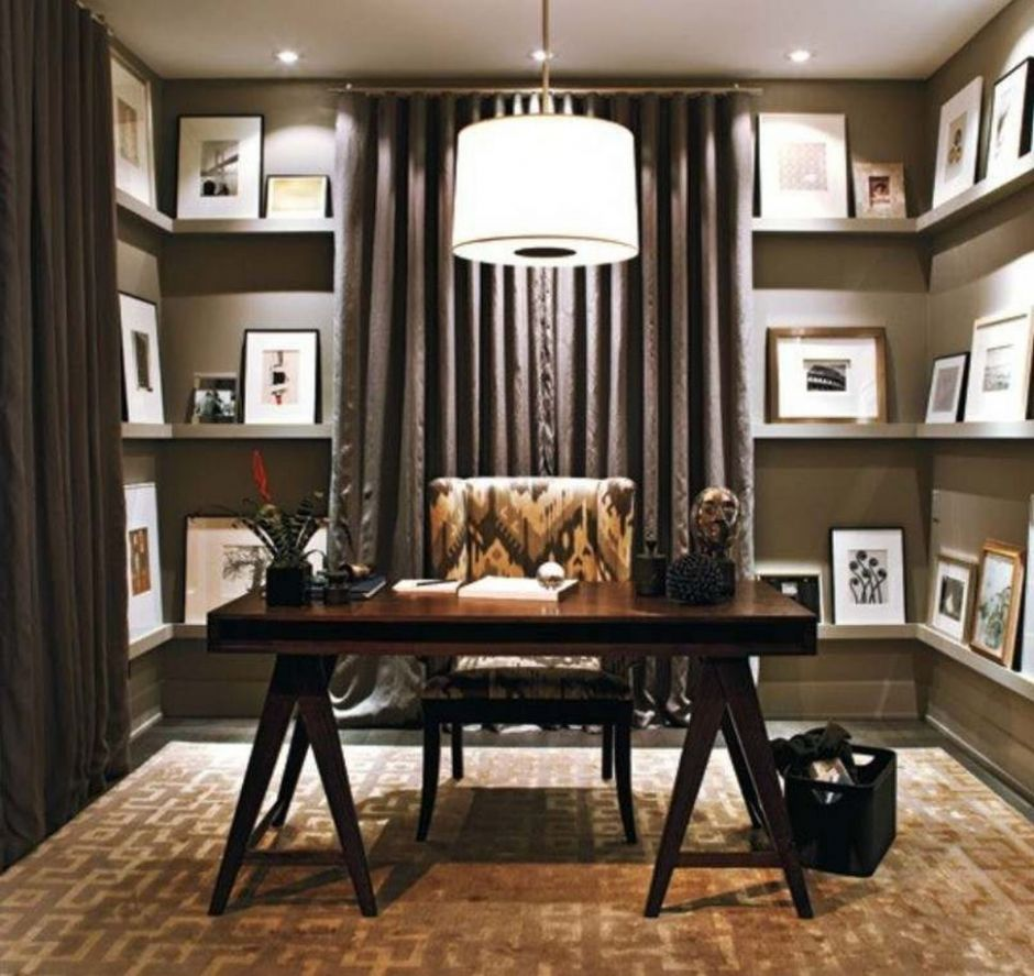 Decorations : Decorations Attractive Modern Home Office Decorating ..