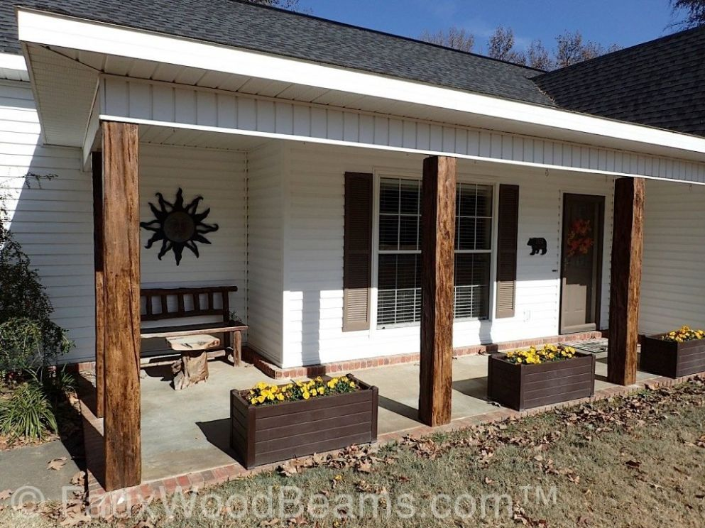 Decorative Wood Porch Posts & More | Faux Wood Workshop