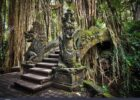 Dekoration Dragon Bridge At Monkey Forest Ubud Art Print Home ...