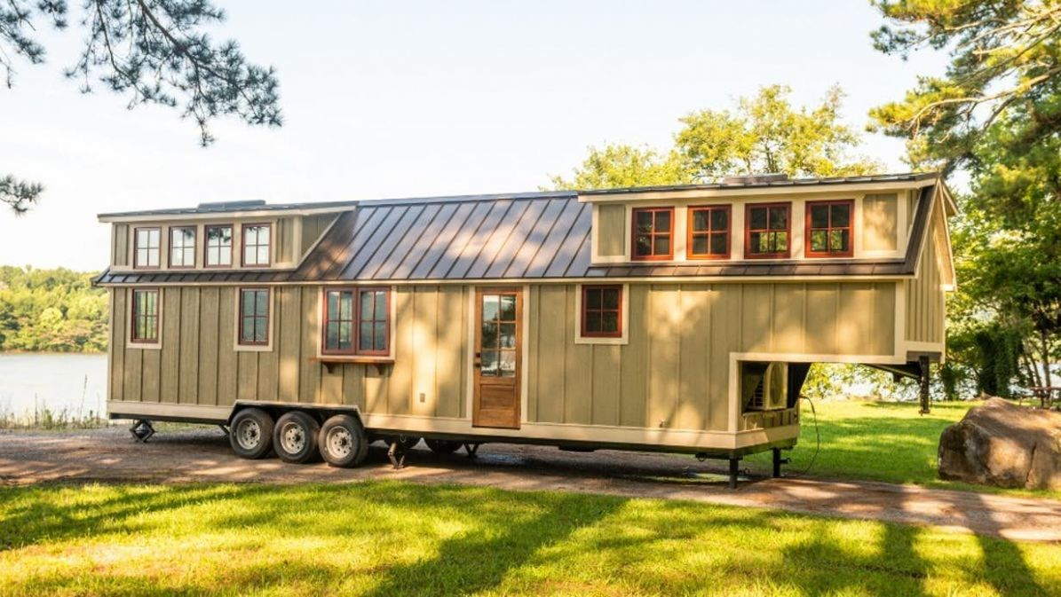 Denali XL supersizes one of the best luxury tiny houses on the ...